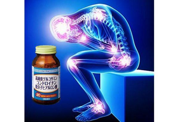 Vien Uong Bo Xuong Khop Glucosamine Orihiro Hyaluronic Acid 270 Vien 4