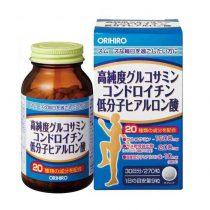 Vien Uong Bo Xuong Khop Glucosamine Orihiro Hyaluronic Acid 270 Vien