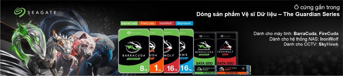 Ổ cứng HDD Seagate 3.5 inch 7200RPM, SATA3 6GB/s, 64MB Cache